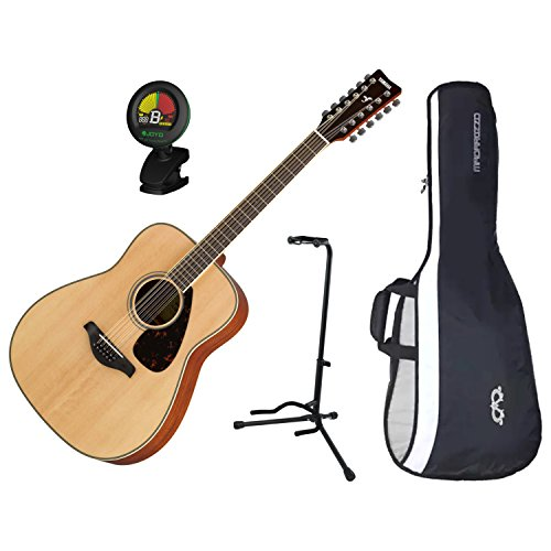 Yamaha FG82012 12-String Solid Sitka Spruce Top Natural for sale  Delivered anywhere in USA