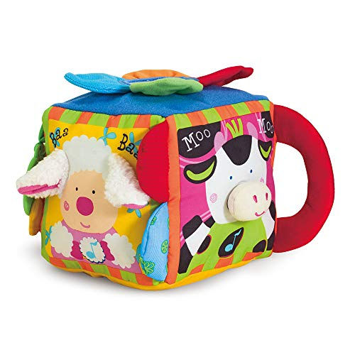 Melissa & Doug K's Kids Musical Farmyard Cube (Educational Baby Toy, Frustration-Free Packaging) ()