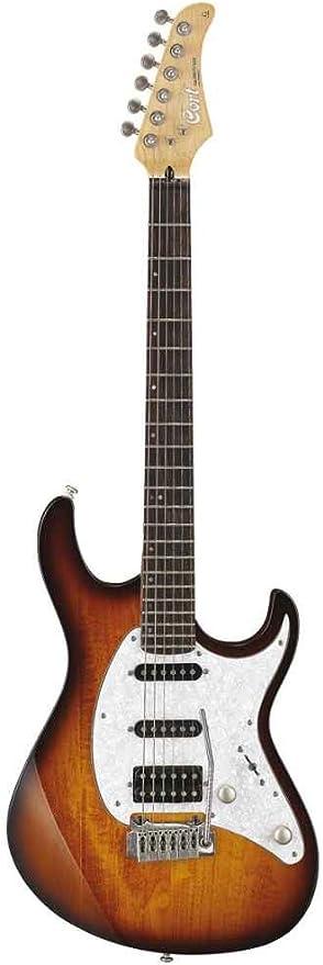 Cort g250tab Tobacco Sunburst de guitarra Stratocaster: Amazon.es ...