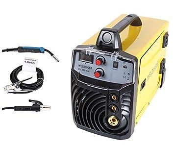 Inversor de soldadura WELDINGER MIG / MAG / Electrodo opcionalmente con o sin conexión de spoolgun