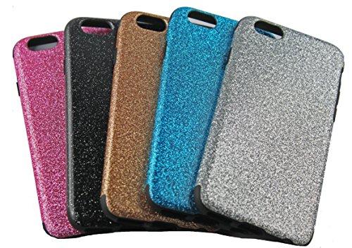 Monkey Cases® iPhone 6 - 4,7 Zoll - Silikon Glitzer Case - Pink - Handyhülle - ORIGINAL - NEU/OVP - Pink