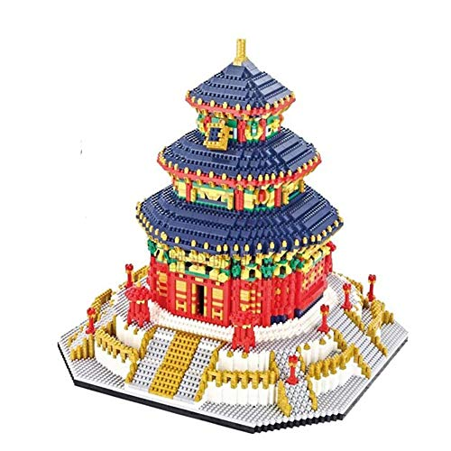 Actcute World Famous Architecture China The Temple of Heaven 3D Mini DIY Diamond Building Nano Blocks Bricks Toy for Children Birthday Gift