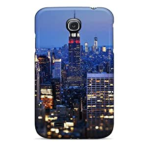 High Grade Angerspoon Flexible Tpu Case For Galaxy S4 - Empire State