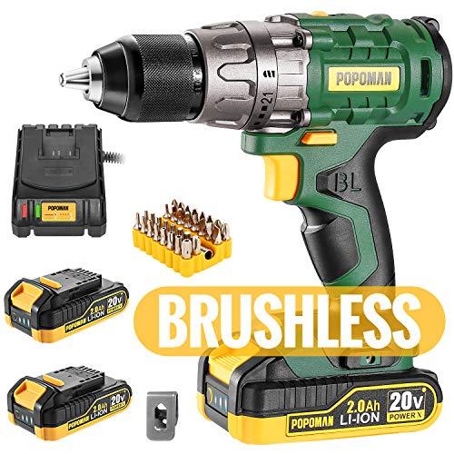 Cordless drill Brushless 20V