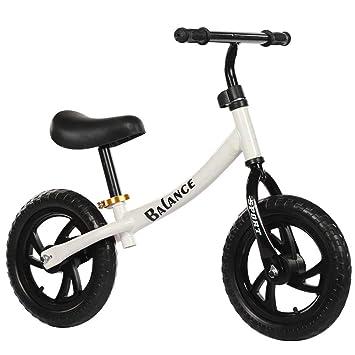 LIDU NiñOs Dos Ruedas Equilibrio Bicicletas Sin Pedales Bebé ...