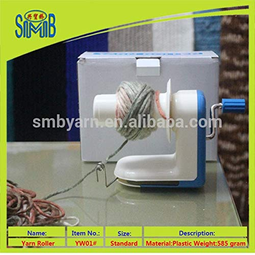 Dalab Online Retail Selling Home Used Hand Operated Yarn Bobbin Winder Machine Plastic Wool Roller, (Color: 1)