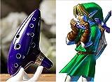 Ohuhu-12-Loch-Alto-C-Mediant-Tone-Ocarina-Von-Legend-of-Zelda-Ocarina-of-Time-Triforce-Link-Cosplay-Ceramic-Replica