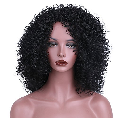 Length Curly Wig - 5