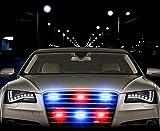 Zone Tech 54X LED Emergency Warning Strobe Lights