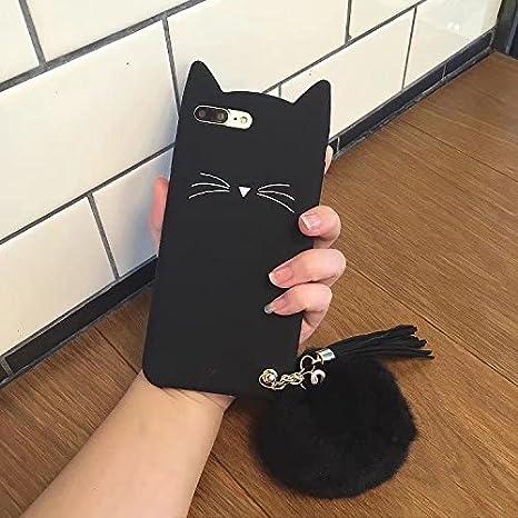 coque iphone 8 plus 3d chat