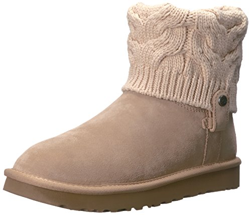 Ugg Kniting In Color Women's Saela Beige Driftwood With Women's Boots XwHq6RXr