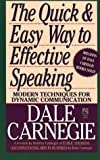 img - for The Quick and Easy Way to Effective Speaking book / textbook / text book