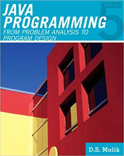 Amazon java programming from problem analysis to program amazon java programming from problem analysis to program design introduction to programming ebook d s malik kindle store fandeluxe Image collections