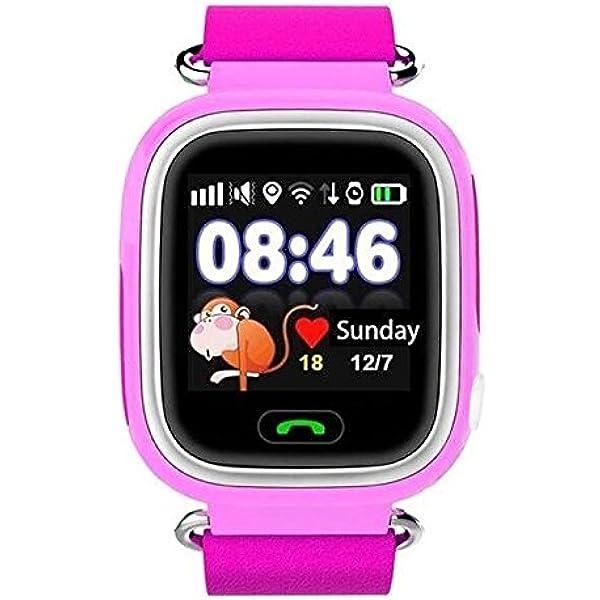 RELOJ TRACKER BABY PINK GPS POSICIONAMIENTO: Amazon.es ...