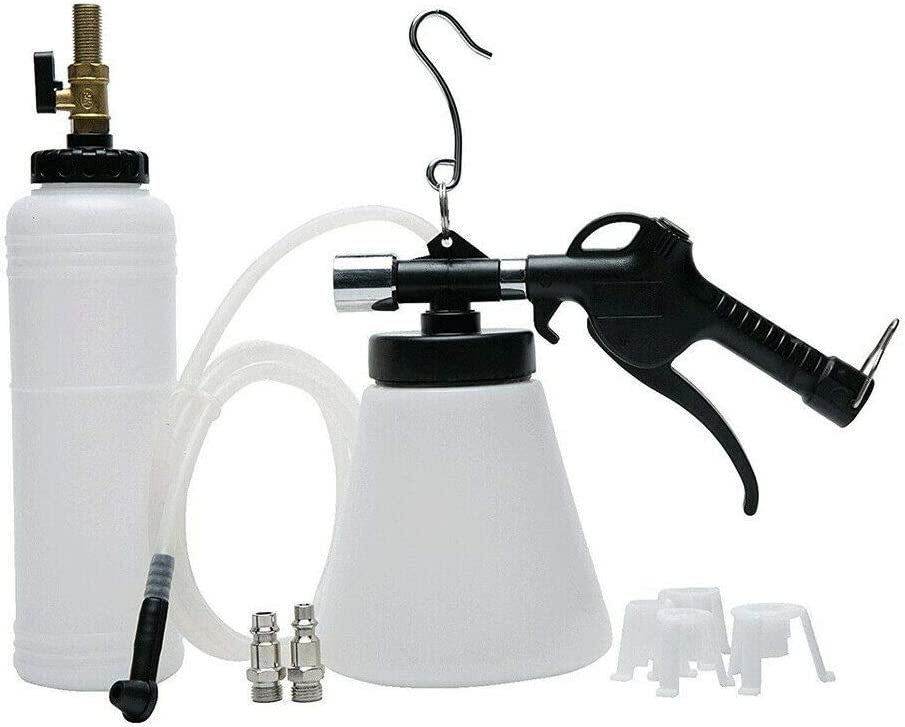 FADZECO Pneumatic Brake Fluid Bleeder Kit Car Air Extractor Clutch Oil Bleeding Tool