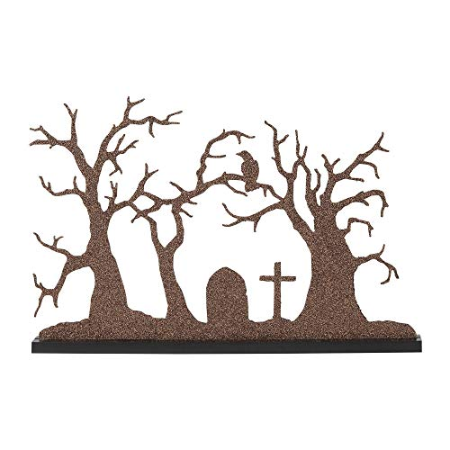 Department 56 Village Collections Accessories Halloween Silhouette Tree Figurine, 10.24