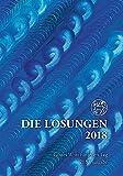 Die Losungen 2018. Deutschland / Die Losungen 2018: Geschenkausgabe Normalschrift