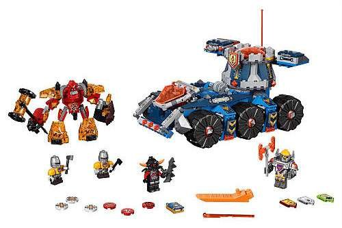 LEGO Nexo Knights Axl's Tower Carrier 66547 by LEGO (Image #1)