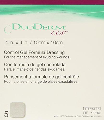 DuoDERM CGF Sterile Dressing - 4