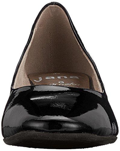 22302 Black Patent Jana Femme Escarpins Noir OqCWpHcw