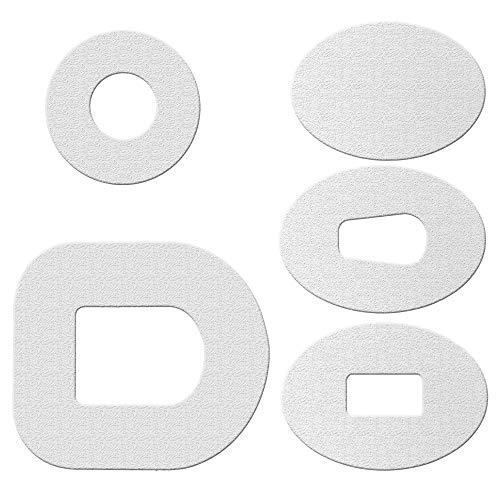 ExpressionMed Patches 10 Pack - Waterproof Design: White - Color Your Own (White, Dexcom g5)