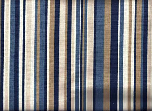 (Blue Stripe Valance)