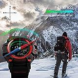 LB LIEBIG Compass Watch Army, Digital Outdoor