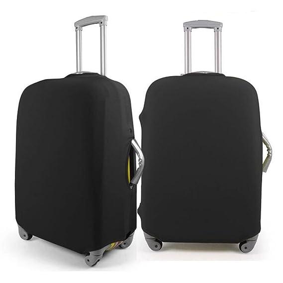 Valise Coque de protection Hellodigi Coton Impression élastique à la poussière Noir Black S s du5b55n