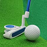 Crestgolf Kids Golf Club Junior Putter Golf Putter,Blue and Pink for Your Choice. (blue, 29 inch)