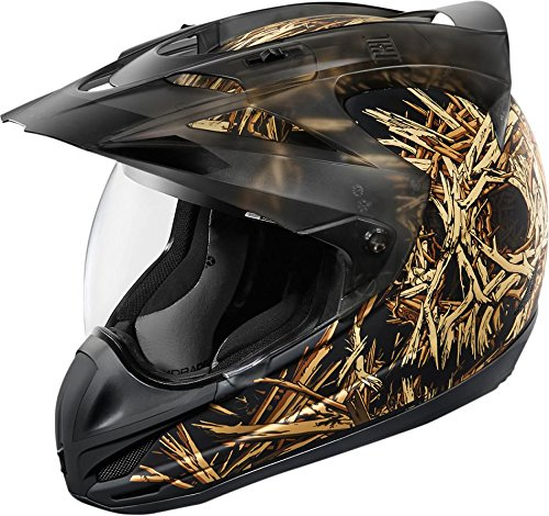 Icon Splintered Variant Rubatone Helmet Black Sm 0101-8045