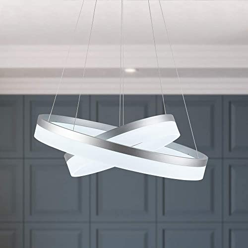 WELAKI LED Chandeliers Modern Pendant Light