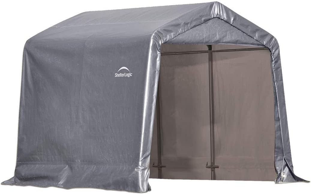ShelterLogic Replacement Cover Kit 8x8x8 Peak Gray 90503 7.5oz Gray