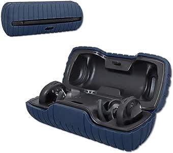 ZALU Compatible for Bose SoundSport Free Charging Case Silicone Case (Midnight Blue)