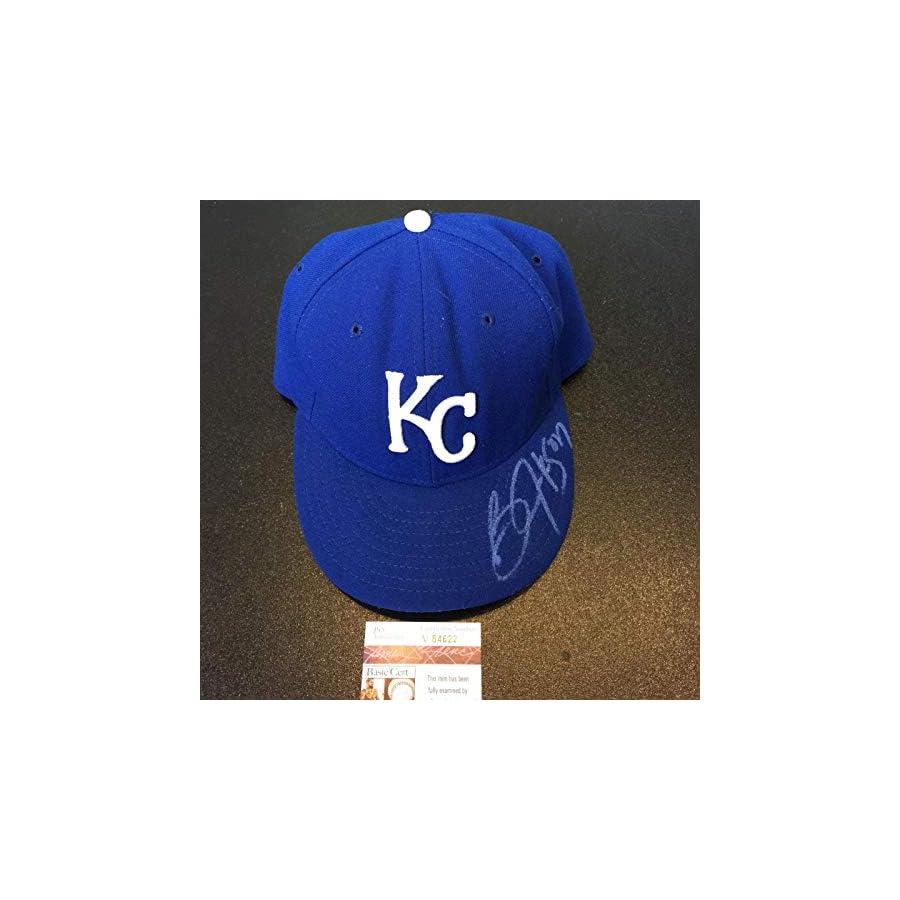 Bo Jackson Signed Autographed Authentic Kansas City Royals Game Model Hat JSA Certified Autographed Hats