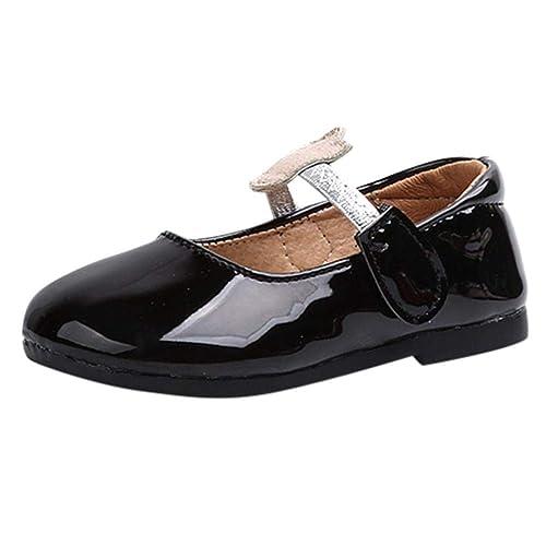 7540fc839360 Zapatos de Charol para Niñas Otoño 2018 Moda PAOLIAN Zapatos de Vestir Boda  Princesa Calzado Invierno Chica Suela Blanda Regalo Fiesta Bebé Niñas  Merceditas ...