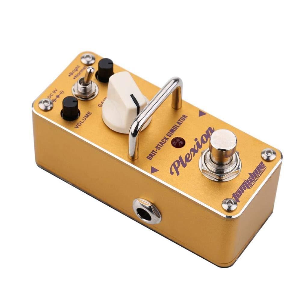 Pedal de efecto de guitarra eléctrica Mini efecto individual con ...