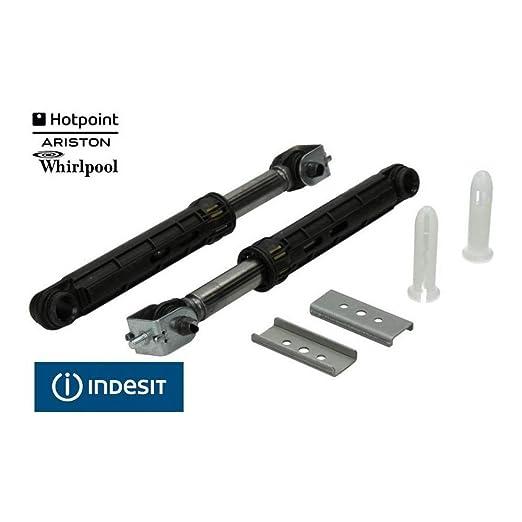 Ariston Indesit - Kit de 2 amortiguadores para lavadora con ...