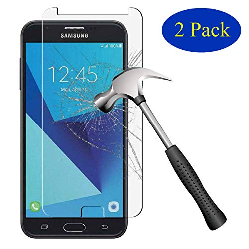 [2-Pack] Sinwere for Samsung Galaxy J7 V / J7V (Verizon) / J7 2017 / Galaxy J7 Perx/Galaxy J7 Sky Pro/Galaxy J7 Prime [Tempered Glass] Screen Protector