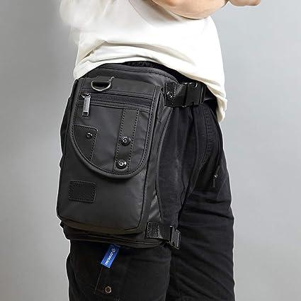 Men Oxford Waist Fanny Leg Bag Hip Drop Belt Hip Bum Motorcycle Race Pack Purse