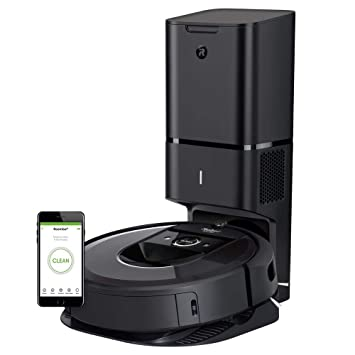 iRobot Roomba i7+ Wi-Fi Connected Robot Vacuum with Automatic Dirt Disposal (7550)