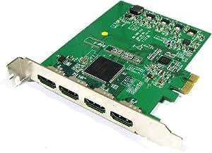 Cablematic - Capturadora HDMI de 4 canales HD