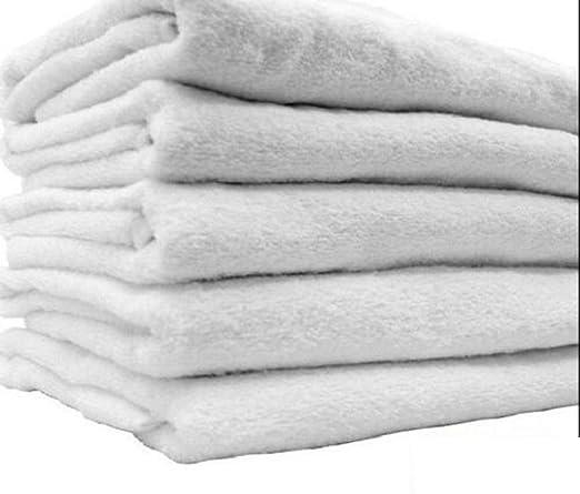 tokogeorgiatowels 12 Toallas de baño Blancas para Gimnasio ...