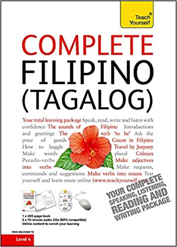 Buy complete filipino tagalog beginner to intermediate book and buy complete filipino tagalog beginner to intermediate book and audio course learn to read write speak and understand a new language with teach m4hsunfo