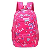 TOTOD Fashion Backpack Teenage Girls Boys School Backpack Letter Printing Female Students Bags