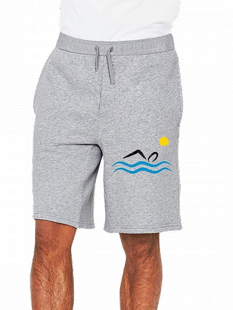 JiJingHeWang Open Water Swimming Mens Casual Shorts Pants