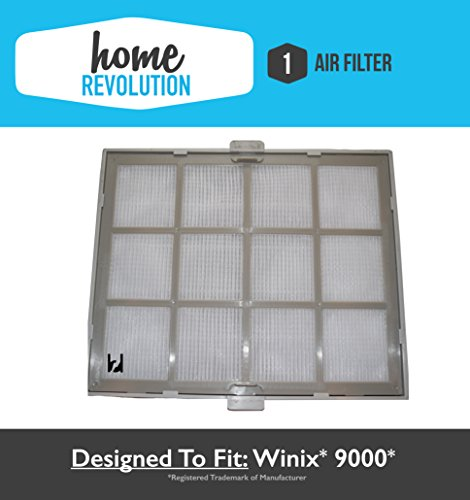 Winix 9000 Home Revolution Brand Replacement Air Purifier Filter & Casing, Compare to Part # 119010