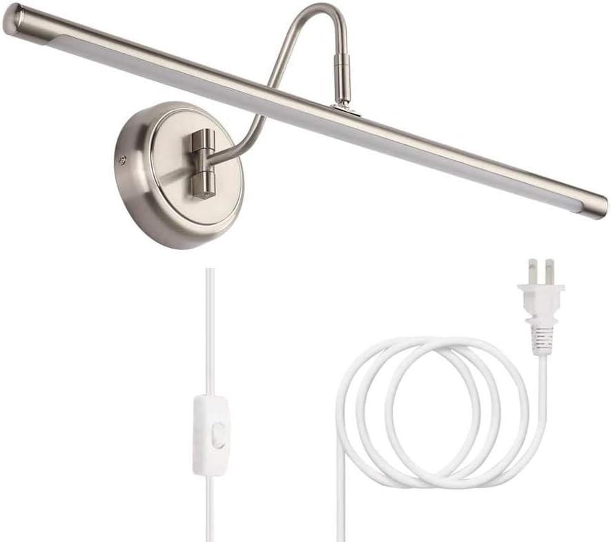 Full Metal Artwork Lamp With Swivel Head, LED Picture /& Display Lighting Light
