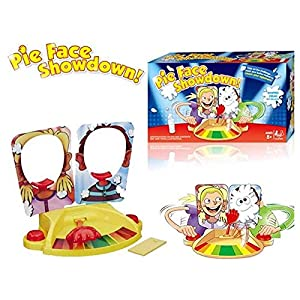 Abbros Pie Face Showdown Party Fun Game 2 Player Board Game for Kids