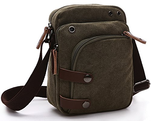 Bag Kindle (Collsants Small Vintage Canvas Travel Purse Mini Shoulder Bags Messenger Crossbody Handbag)