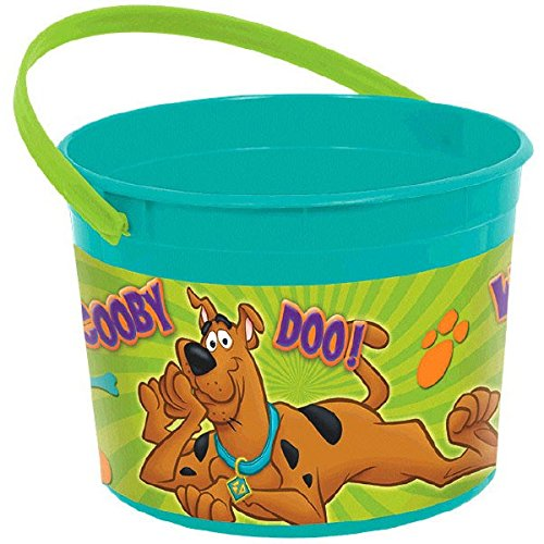 amscan Awesome Scooby-Doo Favor Container Birthday Party Favor, 4-1/2 x 6-1/4